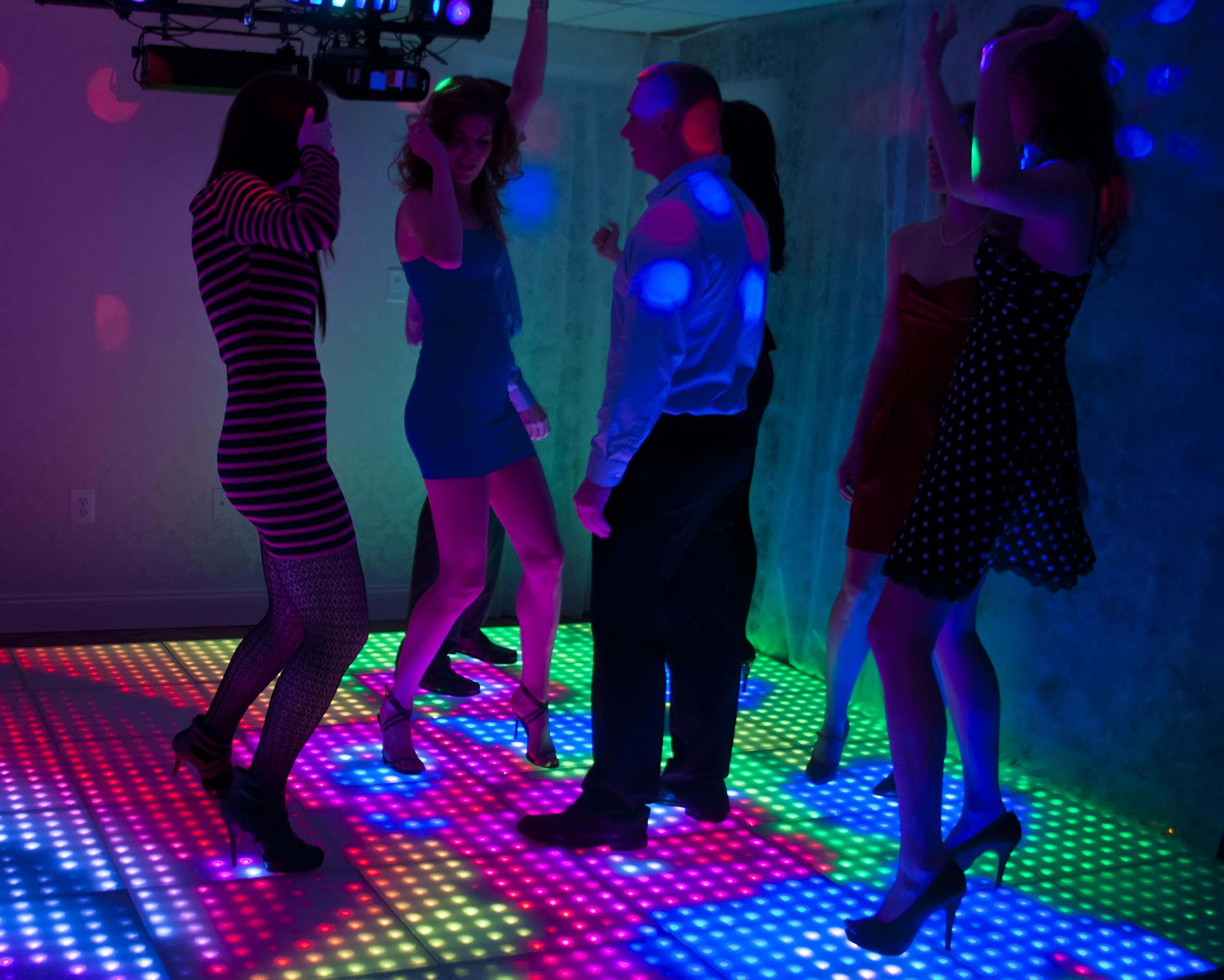 Led Interactive Digital Dance Floor For Parties Trade